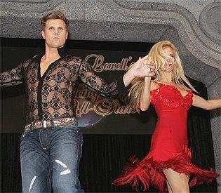 Jonathan Papelbon dancing