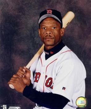 Rickey Henderson on Red Sox