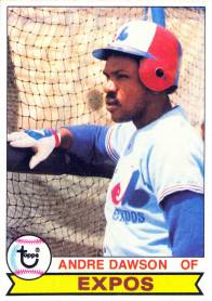 Andre Dawson 1979 Topps
