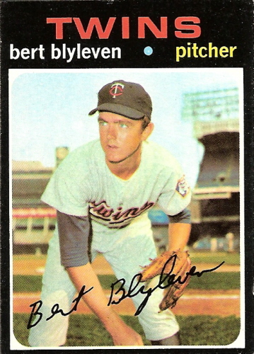 Bert Blyleven on the Twins