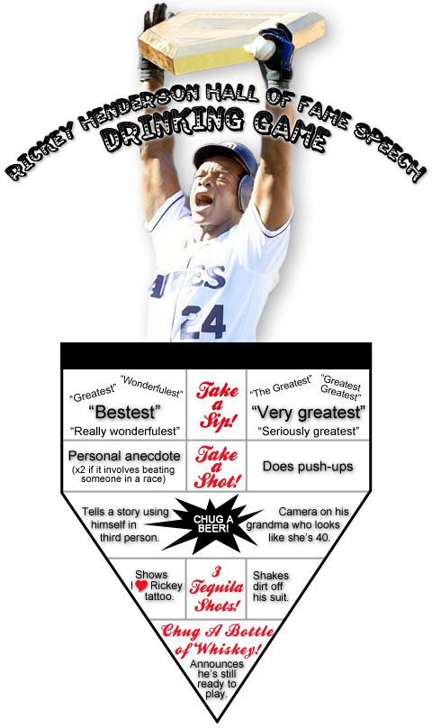 Rickey Henderson Hall of Fame