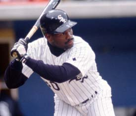 Tim Raines on the White Sox