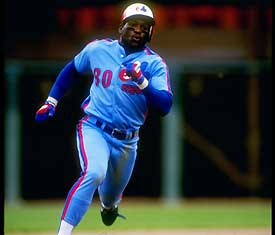 Tim Raines running