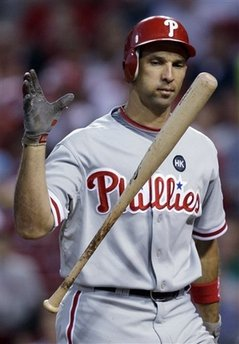 Raul Ibanez of the Phillies