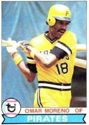 omar moreno - 1979 pirates