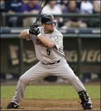 Jeff Bagwell hitting stance