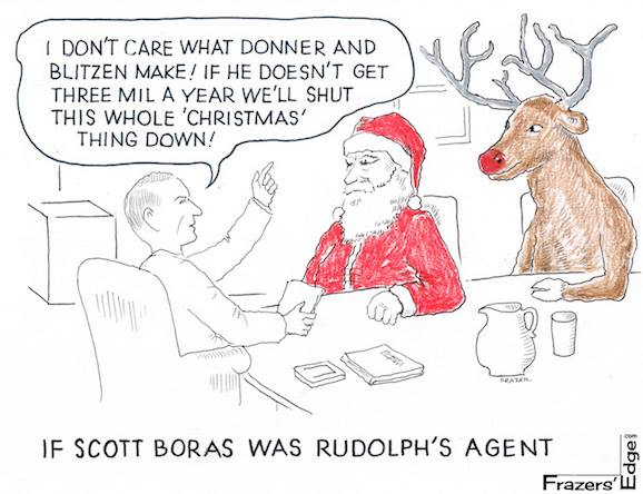 Scott Boras's Christmas