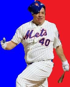 Bartolo Colon MLB Logo