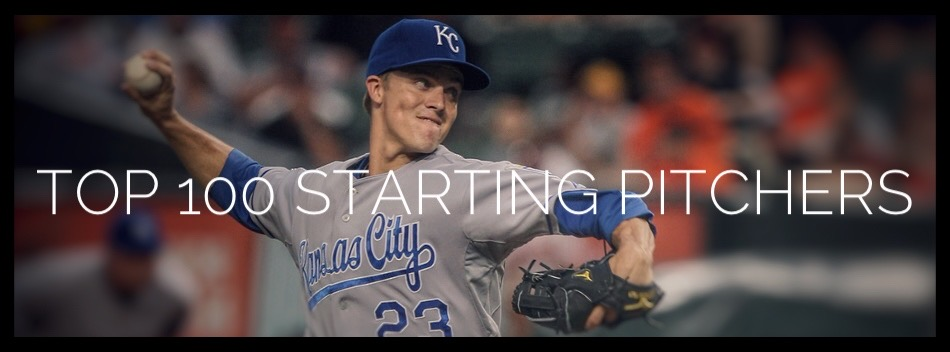 Top 100 Starting Pitchers Graphic